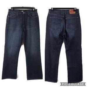 Lot of 2 Lucky Brand 32x30 denim blue jeans